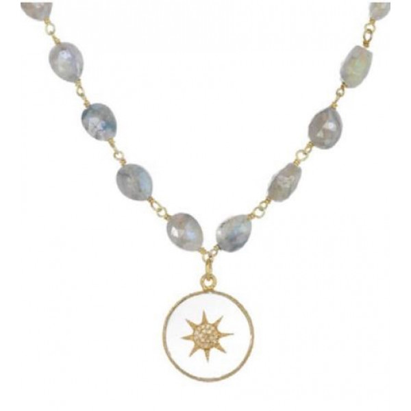 Starburst Gemstone necklace