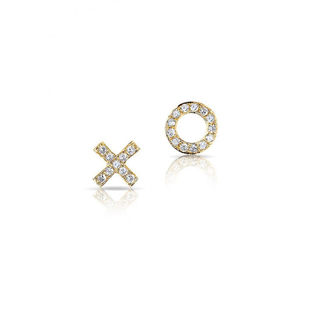 stud diamonds brushed magpie caelen products dimond copy diamond ellis white earrings gold micro with