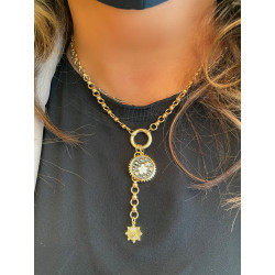 Gold Plated Charm Necklace