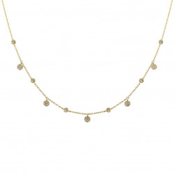 14k  Diamond Dangle Necklace