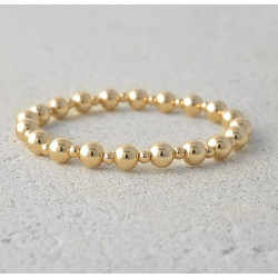 Gold Ball Stretchy Bracelet