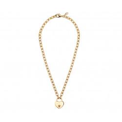 18k Gold Plated Brass Padlock link Necklace