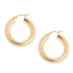 Classic 18K Gold Plated Hoops