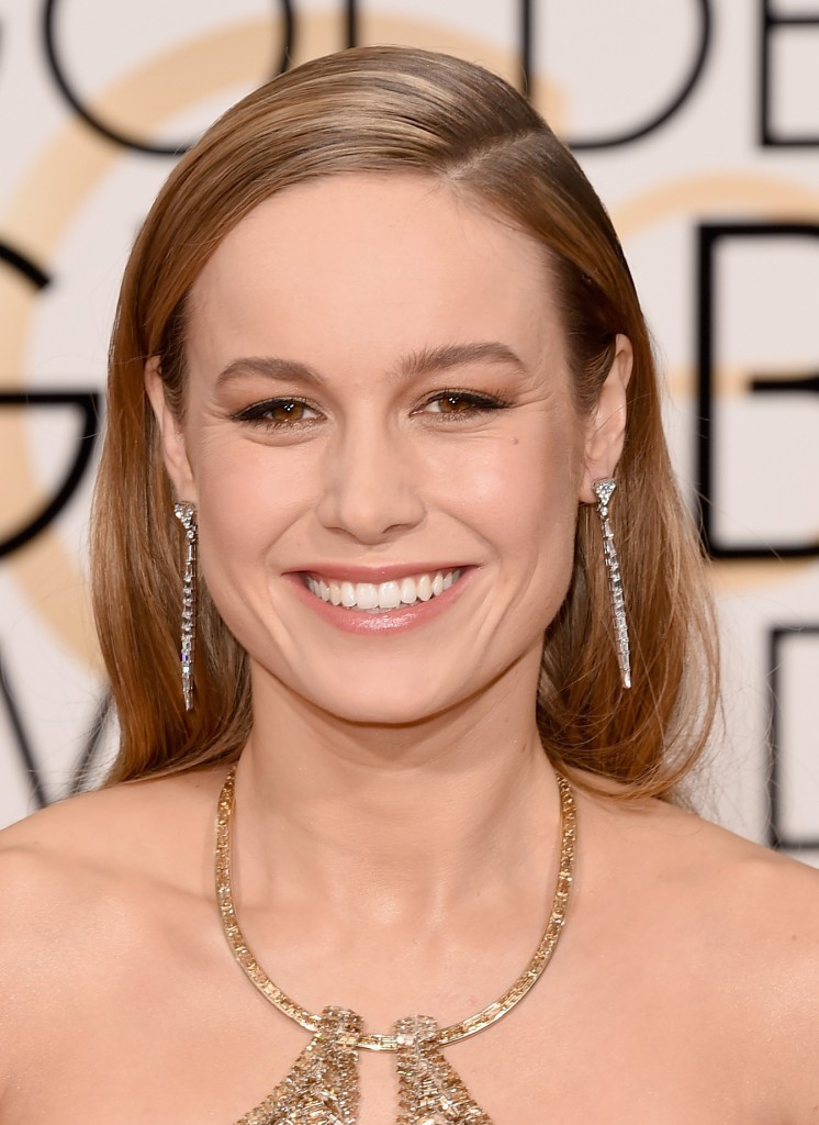 Brie Larson - Golden Globes Jewelry