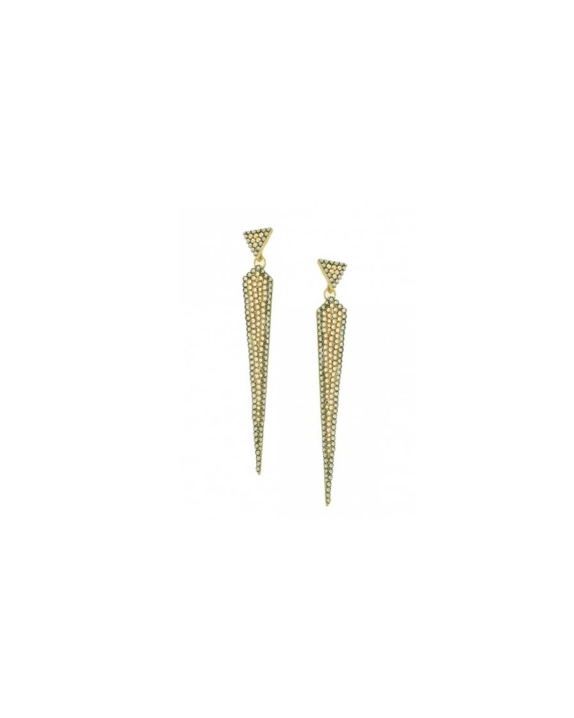 Gold Daggard Earrings