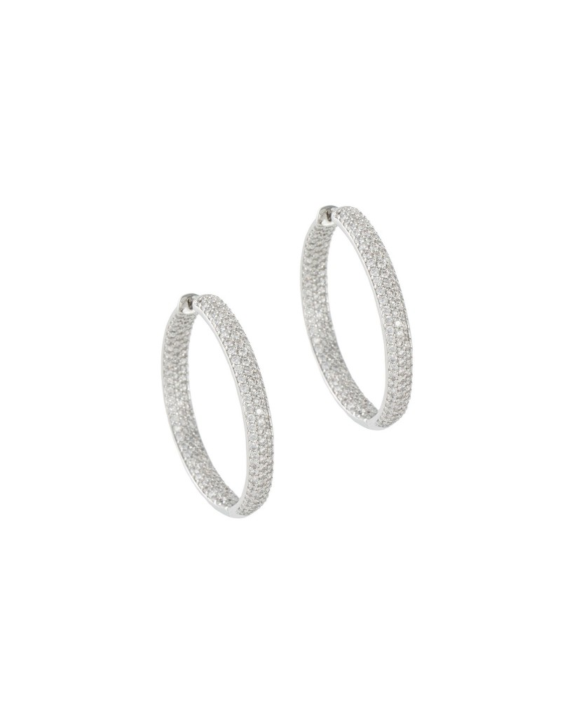 Sterling Silver Hoop Earrings - Susan Blake