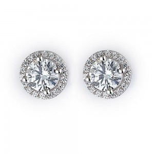Diamond Stud Earrings for Bridesmaids